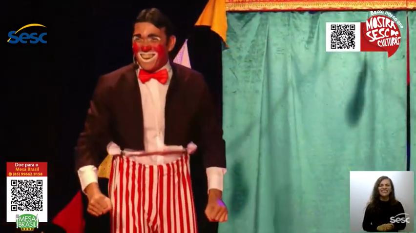 Morra de rir com os clássicos da palhaçaria do Circo do KO's