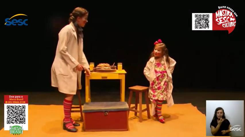 Encanto e graciosidade com o espetáculo MariAna