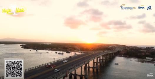 As belezas da Praia do Cumbuco, Sesc Iparana e Rio Ceará
