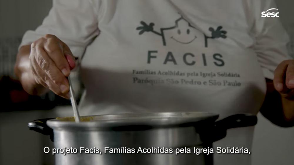 A instituição Famílias Acolhidas pela Igreja Solidária é mais uma das acolhidas pelo Mesa Brasil