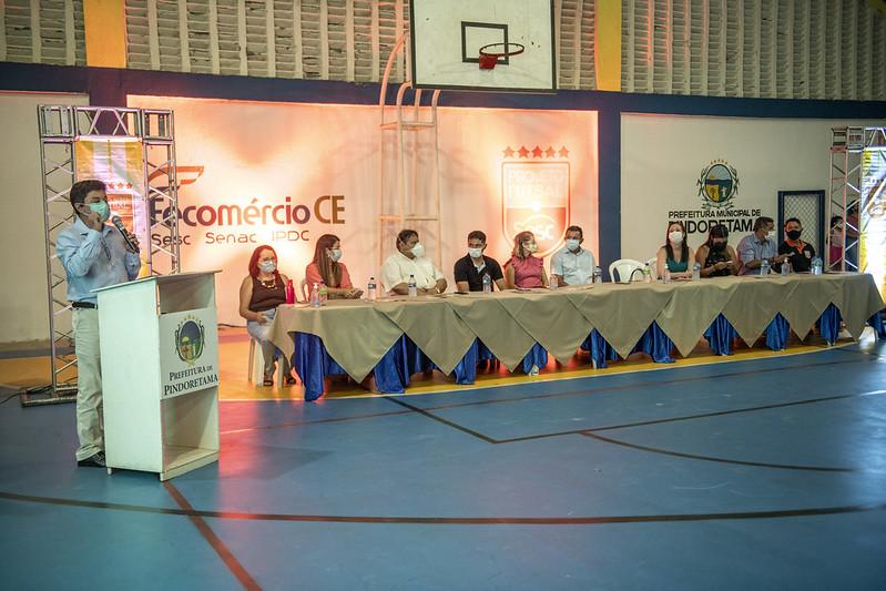 Futsal Sesc oferta 250 novas vagas em Pindoretama