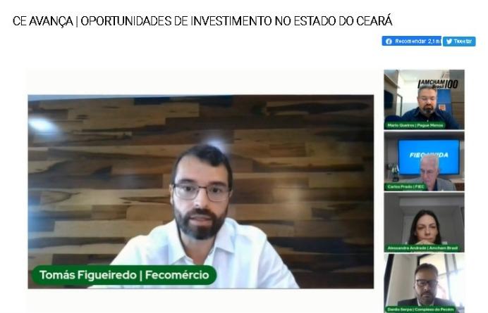 1º Ceará Avança aborda oportunidades para crescimento do Estado