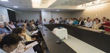 Luiz Gastão apresenta resultados  das ações do Sistema Fecomércio