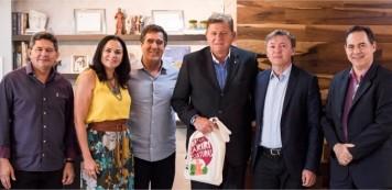 Visita do Cônsul da Argentina