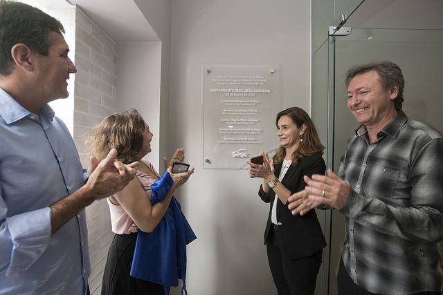 Sistema Fecomércio realiza a primeira reunião do ano e inaugura o Restaurante Sesc João Cordeiro