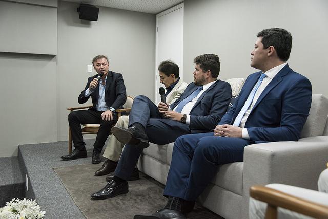 Ministro do Trabalho visita a Fecomércio Ceará