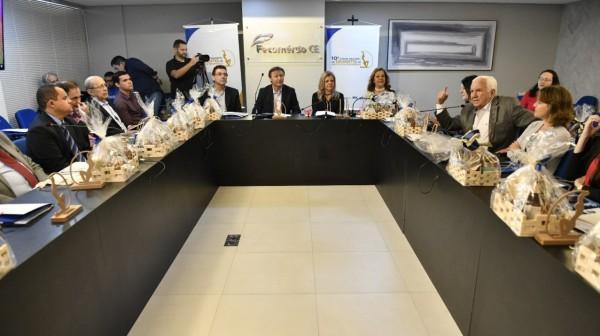 Fortaleza sedia Fórum Nacional de Dirigentes dos Institutos Fecomércio