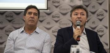 Conselhos Regionais e Diretoria realizam reuniões mensais do Sistema Fecomércio