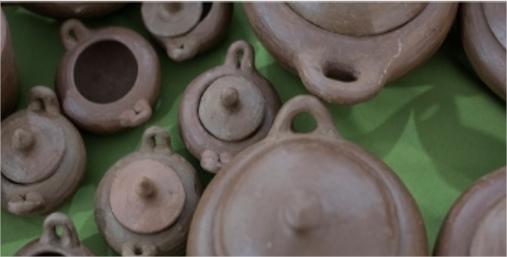Artesanias do barro em destaque no primeiro Encontro de Loiceiras do Ceará