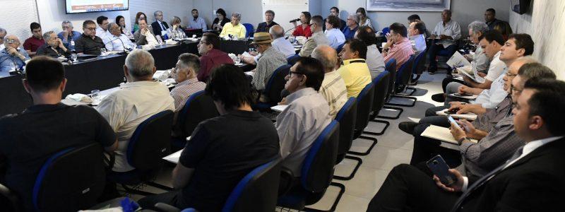Sistema Fecomércio realiza primeira reunião do ano  da Diretoria e de Conselhos Regionais do Sesc e Senac