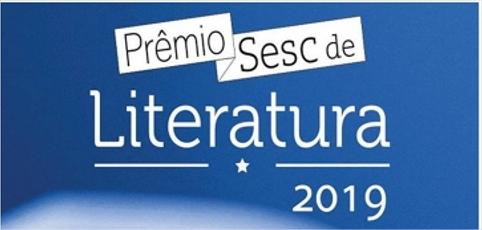 Prêmio Sesc de Literatura abre inscrições para edição 2019