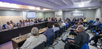 Fecomércio realiza 1ª reunião de Diretoria do ano