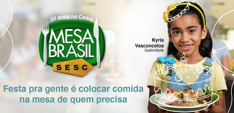 Sistema Fecomércio celebra os 20 anos do Mesa Brasil no Ceará