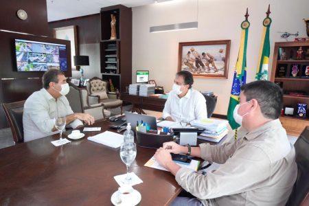 Sistema Fecomércio e Governo do Estado conversam sobre futuras parcerias