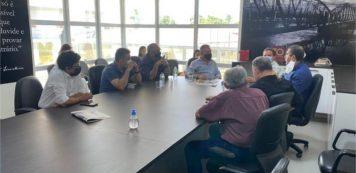 Luiz Gastão e comitiva realizam  visita técnica em Iguatu